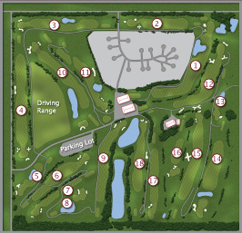 Eagle Rock Golf Course Map