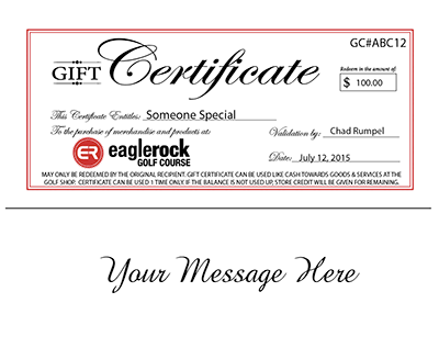 Classic Email Gift Voucher Image