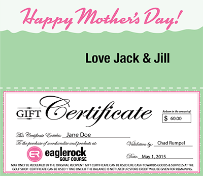 Mother's Day Gift Voucher Image