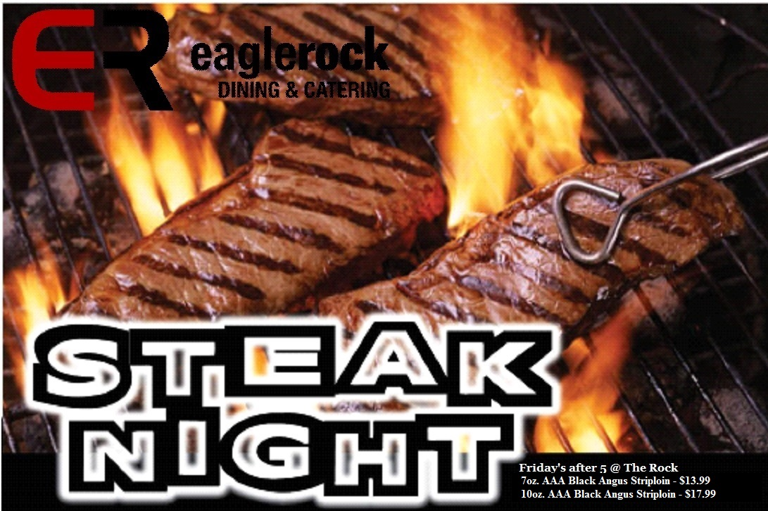Steak Night at The Rock Image